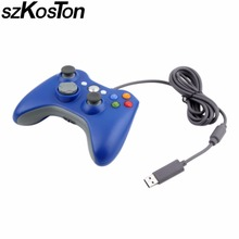 USB Wired Game Controller Joypad Gamepad For Xbox 360 Console Wired Controller For XBOX360 PC Game Joystick