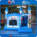STOCK 5x4 m inflable castillo hinchable/ice princess castillo inflable para la venta
