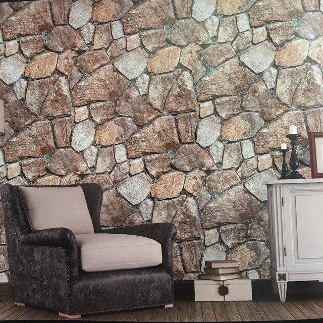Bacaz Exfoliator Textur Gras 3D Stein Tapete für Wohnzimmer Sofa ...