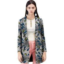 Тренчкот женский ручной работы модная дизайнерская длинная куртка
