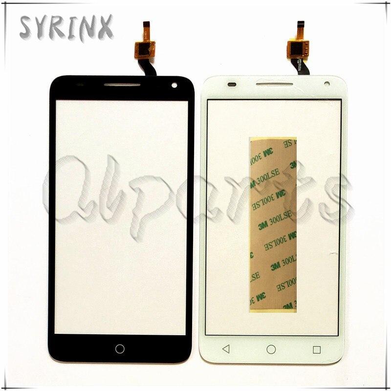 Syrinx bande écran tactile digitizer façade en verre remplacement pour alcatel one touch pop 3 5.5 ot5025 5025d 5025 écran tactile capteur