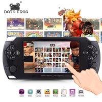 Портативный игры игроки с 4,3 дюймов HD Экран игры 32bit Портативный Игровые приставки Suport PS1 GBA скопировать файл игры с 8 ГБ Оперативная память