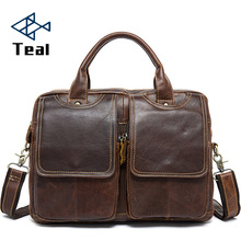 2017 new Genuine Leather Men Bag Briefcase Fashion Business Man Bag Messenger Bags Messenger Men's Handbag Shoulder Bag Designer new collection 2017 fashion men bags men casual leather messenger bag high quality man brand business bag men s handbag