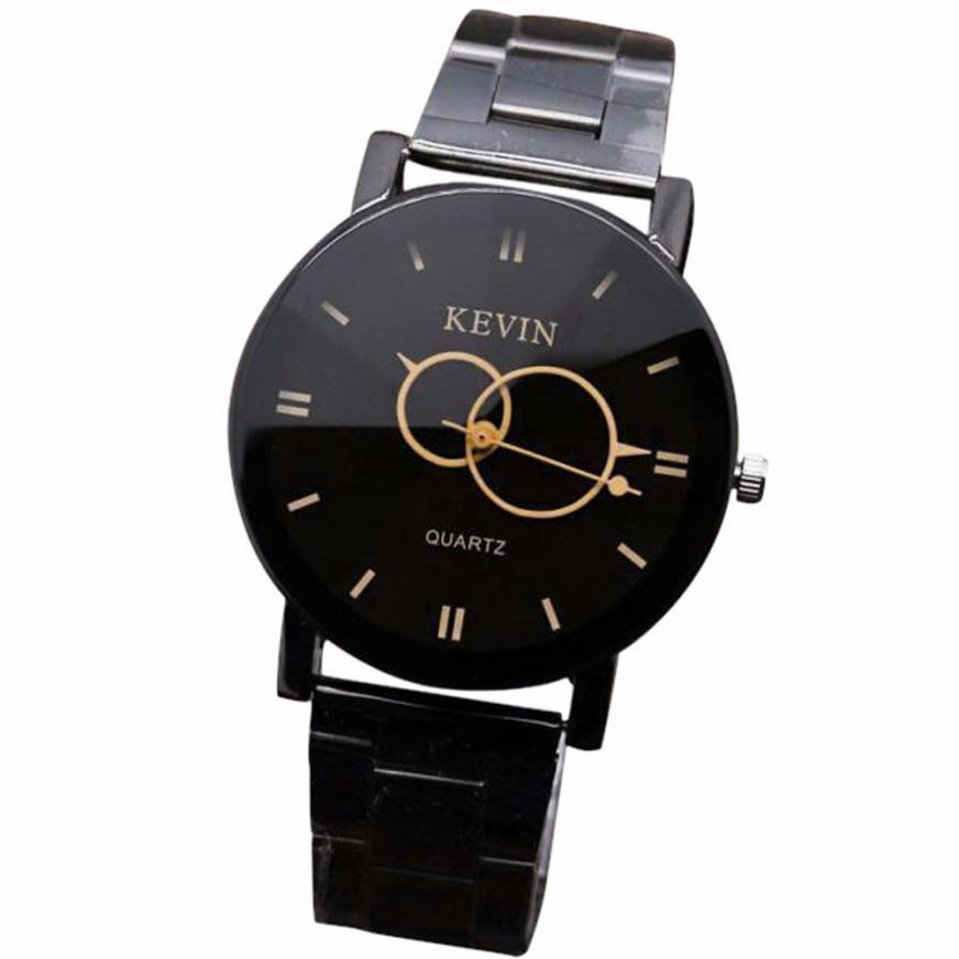 2016 design wrist watches black stainless