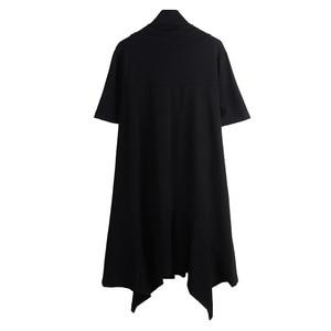 Image 4 - Autumn winter men gotico punk rock trench coat long jacket cloak men vintage black hooded overcoat cardigan gothic style coats