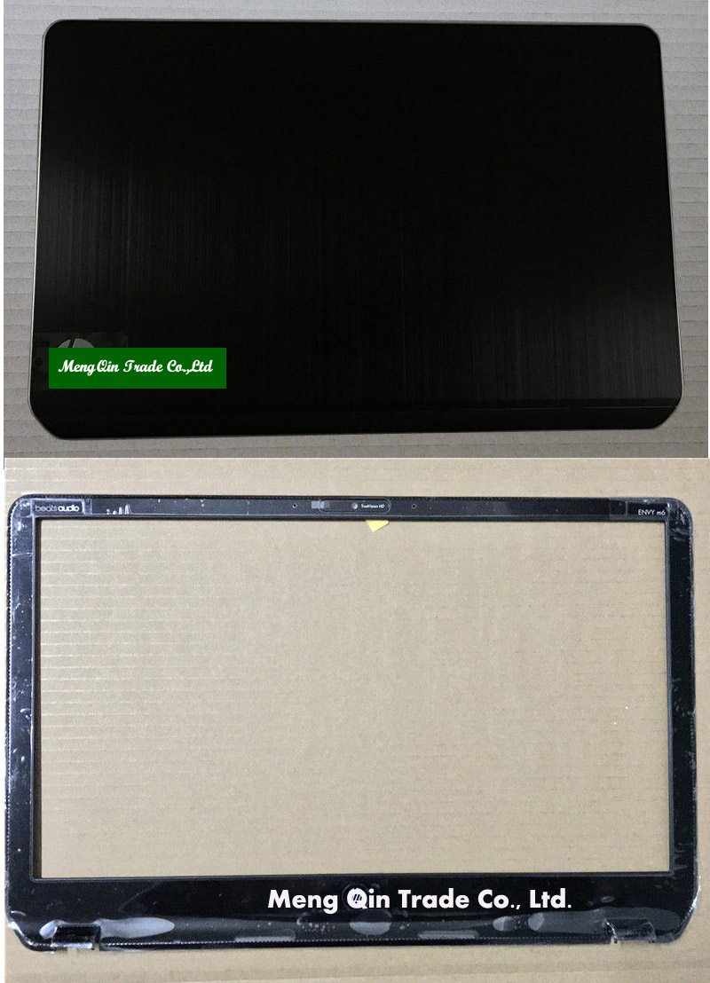 New HP For Pavilion For Envy M6 M6-1000 Series Cover Lcd Black With Silver LCD TOP COVER 690231-001 AP0R1000140
