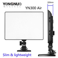 YONGNUO YN 300 YN300 Air Ultra Thin On Camera Led Video Light Pad Panel for Canon Nikon Sony Panasonic DSLR Camcorder