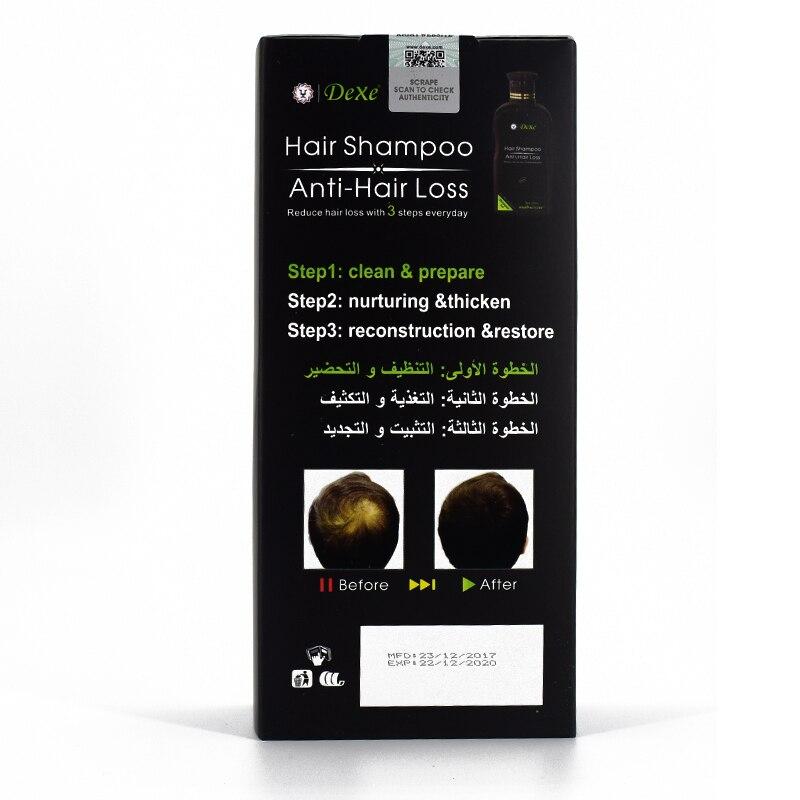 Dexe Professional Shampoo for Hair Loss Anti-hair Loss Chinese Herbal Hair Growth Product Prevent Hair Treatment for Men & Women Karachi