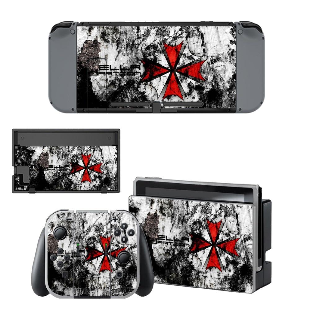 Купить с кэшбэком Nintend Switch Vinyl Skins Sticker For Nintendo Switch Console and Controller Skin Set