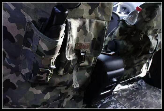 Nuevos modelos de fundas de camuflaje de invierno para asientos todoterreno para Hyundai ix30/35 Sonata ELANTRA Terracan tufson - 2