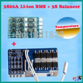 3S 20A li-ion DIY BMS PCM +Balance board  battery protection board bms pcm with balancer w/temp  for  LicoO2 Limn2O4 li battery