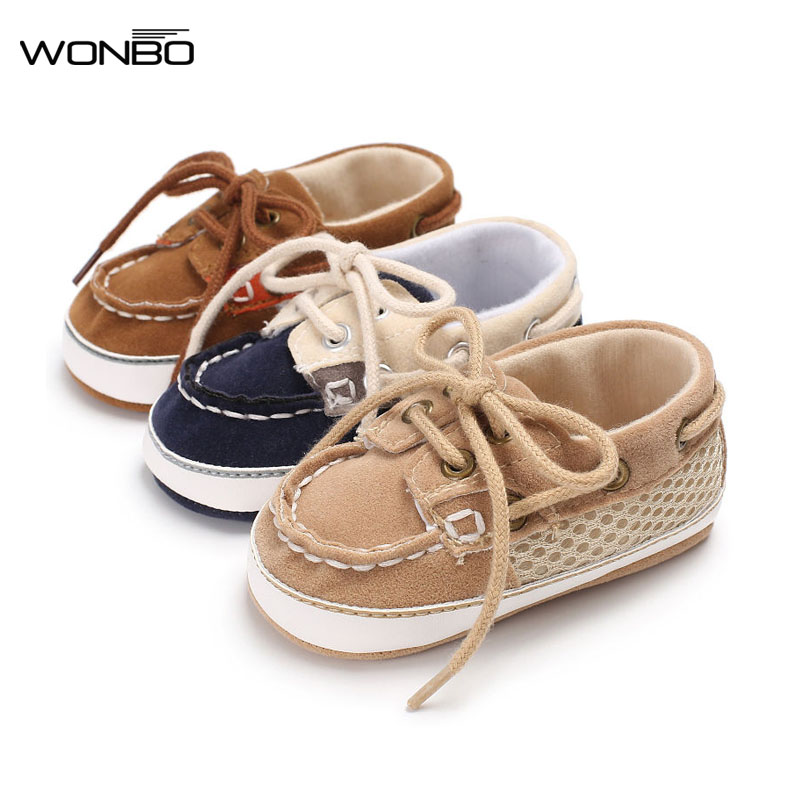 a6d3176b6625 2018 Fashion Baby Shoe Soft Sole Casual Canvas Shoe Lace-Up Solid For  Autumn Baby
