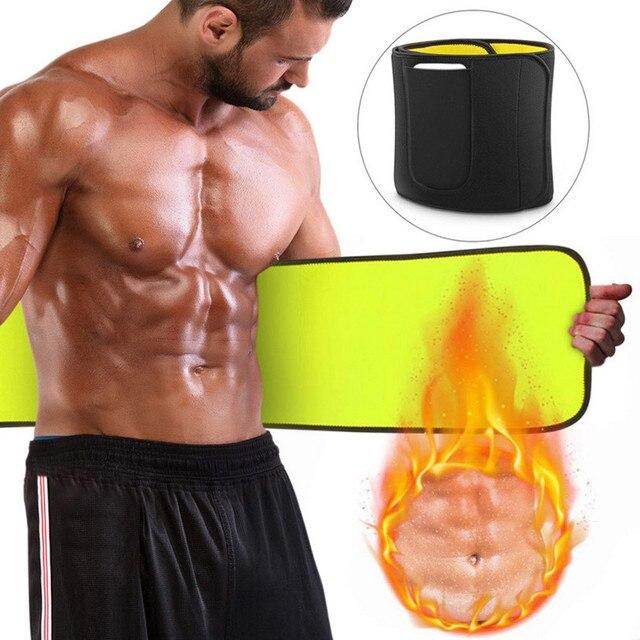 CHENYE Neoprene Man Shaper Male Waist Trainer Cincher Corset Men Body Modeling Belt Tummy Slimming Strap Fitness Sweat Shapewear