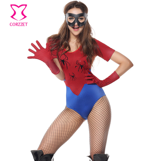 costumes Sexy spiderman