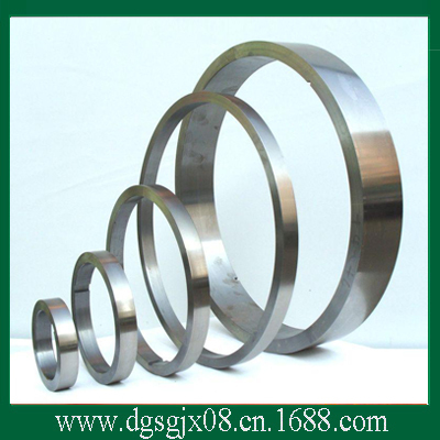 Tungsten carbide coated steer ring for wire industry tungsten carbide steel ring with wire drawing application