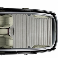 Заднего сиденья матрас внедорожник багажник кровать Автомобильные путешествия кровать 2 станки молнии связи универсального использования самостоятельного вождения путешествия кемпинг автомобиль кровать