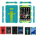 For apple ipad 2 3 4 Robot Extreme Military Heavy Duty Waterproof Dust/Shock Proof with stand Hang cover Case Kid Childrens Case