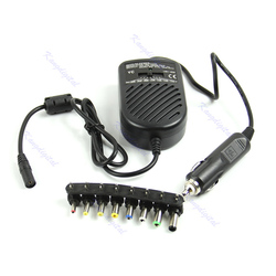 1 Set DC 80W Car Auto Universal Charger Power Supply Adapter Set For Laptop Notebook High Quality