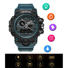 YAZOLE Sport Watch Men Top Brand Luxury Famous Electronic Wristwatch Led Digital Wrist Watches For Male Clock Relogio Masculino