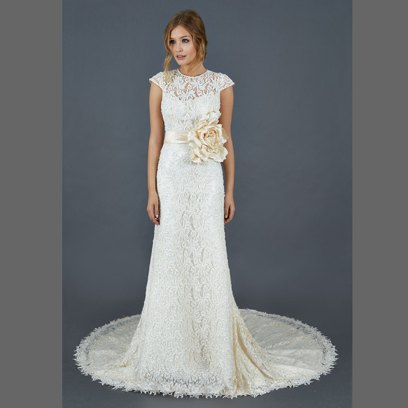 online get cheap champagne wedding dress flowers