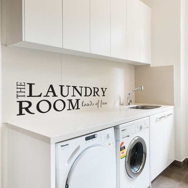 Laundry Room Wall Decal   Loads Of Fun   Vinyl Wall Quote Sticker Laundry  Lettering Sign