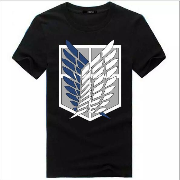 Anime Attack On Titan Women Men Cosplay T-Shirt