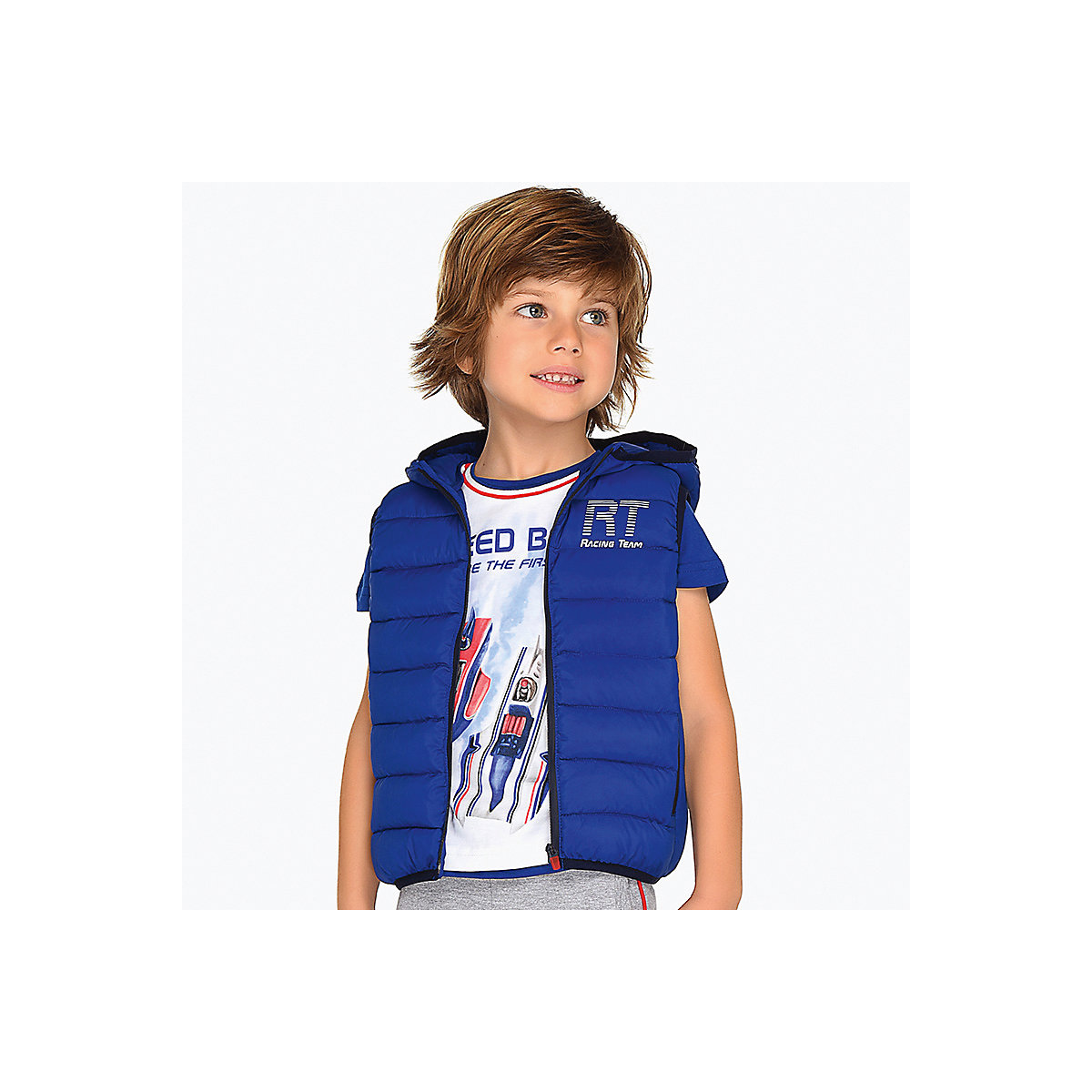 Vests & Waistcoats MAYORAL 10691254 Vest kids for boys Children s Clothing Comfortable and stylish stylish rhinestone heart round letter bracelet for women