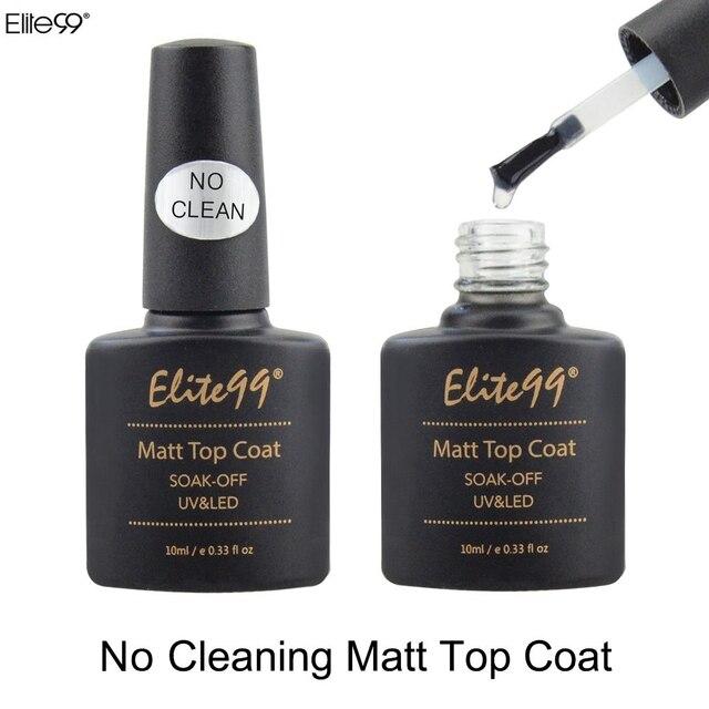 Elite99 10 ml Metallic Top Mantel Basis Mantel Top Mantel Matte Top Glänzende Gel Tränken Weg Keine Reinigung Matte top Mantel Primer Lack