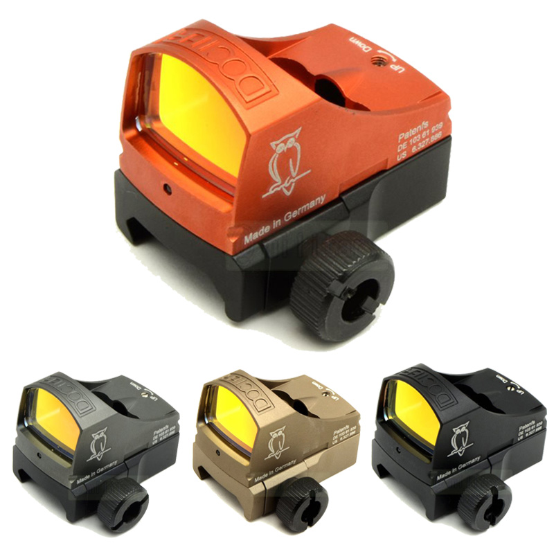 Tactical Docter Optic Sight Compact Docter Red Dot 3 MOA Scope Auto Brightness Control Reflex Sight