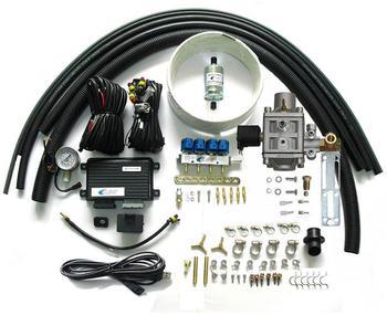 комплект впрыска топлива | Метан CNG последовательная система впрыска конверсионные наборы для 3 или 4 цилиндра бензина впрыск топлива автомобилей