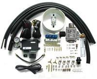 Otomobiller ve Motosikletler'ten Yakıt Enjek. Kontrolleri ve Parçaları'de Metan CNG Sıralı Enjeksiyon Sistemi Dönüşüm Kitleri 3 veya 4 Silindir Benzinli Yakıt Enjekte Arabalar