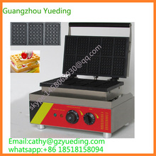 hot sale electric 10 pieces waffle machine rectangle belgian waffle maker