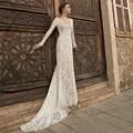 SG30 Elegant New Style Lace Wedding Dress Long Sleeve Court Train Vestido de Noiva Bridal Gowns 2016