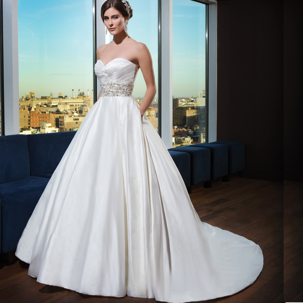 Ball Gown Wedding Dress 2017 New Sleeveless Sweetheart