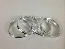 4PCS  75 to 72.56 Hub Centric Rings OD=73.1mm/74.1mm/75mm ID= 72.56 mm Aluminium Wheel hub ring