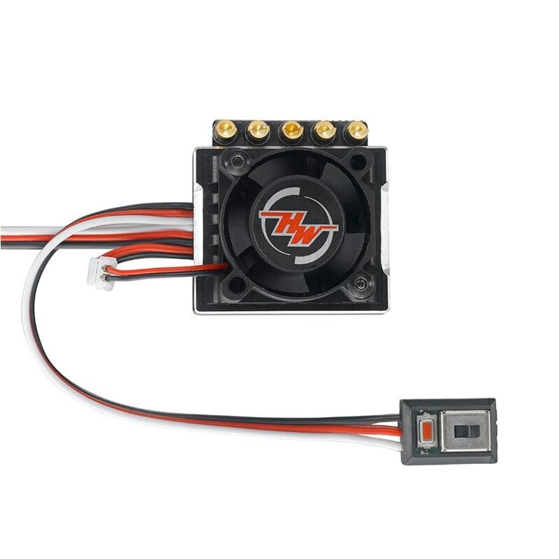 FATJAY Hobbywing XeRun XR10 Justock 30112000 60A 2 3s sin escobillas sensored ESC para RC 1/10 competencia de coches-in Partes y accesorios from Juguetes y pasatiempos    1