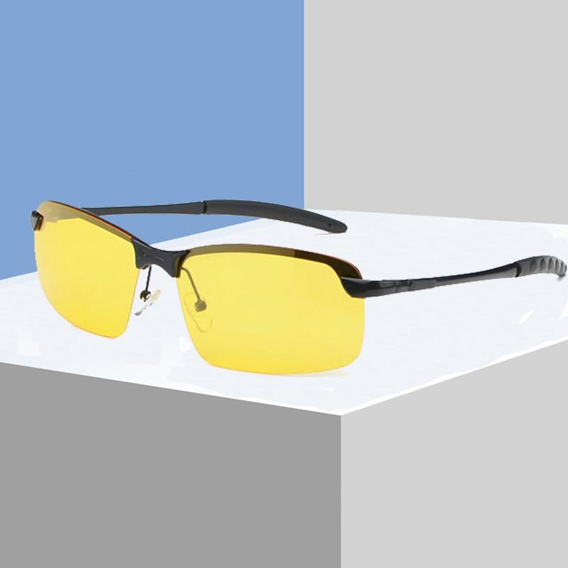 Ausdauernd Hd Nachtsicht Polarisierte Schutzbrillen, Anti-glare Männer Frauen Fahren Gläser, Uv400 Fahrer Gelb Sonnenbrille, Tac Objektiv N3043