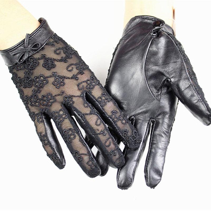 Жіночі рукавички з овчини з - Аксесуари для одягу - фото 2