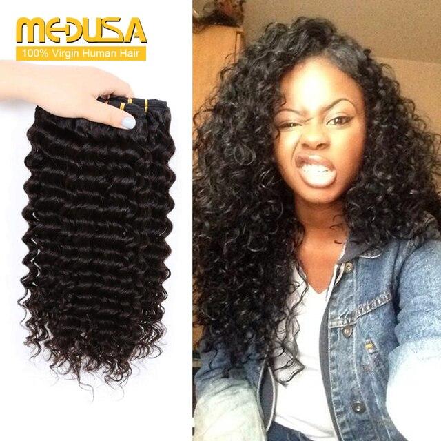 Mocha Hair Company Brazilian Deep Wave 4 Bundles 30 Inch Mink