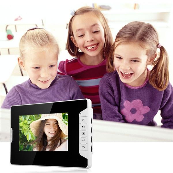 Горячая Распродажа 7 дюймовый проводной Цвет видео-телефон двери Система внутренней связи ip-телефон компании
