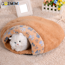 New Arrival Cat Warm Cave Winter Fleece Bed For Pet  Small Dog Soft Beds Top Quality cama para gato House for