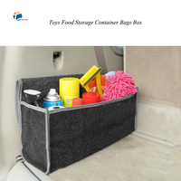 Taitian High Quality Car Rear Cargo Trunk Organizer Box Universal Stowing Tidying Boxs Fit Luggage Toys