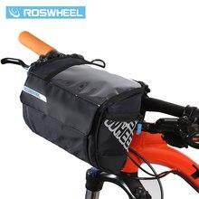 ROSWHEEL 3L Sacchetto Del Manubrio Della Bicicletta MTB Della Bici Della Strada di Riciclaggio Anteriore bar Pannier Frame Del Sacchetto Mappa borse Bicicletta Bolsa Bicicleta 111271