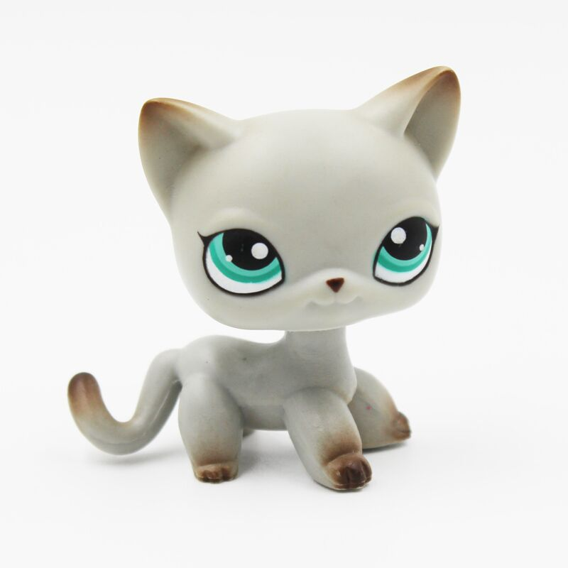 Rare pet shop lps toys #339 littlest Short Hair Cat standing black #336 yellow grey tabby #1116 #391 old collection giftsRare pet shop lps toys #339 littlest Short Hair Cat standing black #336 yellow grey tabby #1116 #391 old collection gifts
