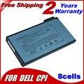 Bateria do portátil para dell 08m815 1691 p 1k500 jigu para inspiron 3700 2500 3800 4000 8000 4100 4150 8100 8200 Para Dell Latitude CP