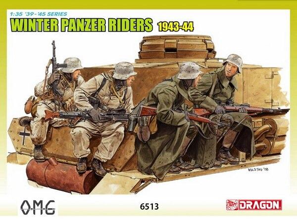 IN STOCK Dragon 6513 1:35 Winter Panzer Riders 1943-1944