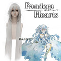 100cm Silver White Pandora Hearts Alice Undertaker Cosplay Wig Party Hair Wig