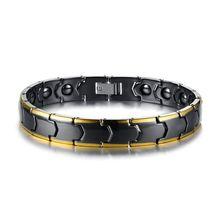 Черный цвет керамика гематит мужские браслеты модные ювелирные