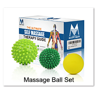 Massage Roller Stick Back Hook Massager Tool Massage Rod Neck Muscle Pressure Stick Self Massager Trigger Point Original Point 4