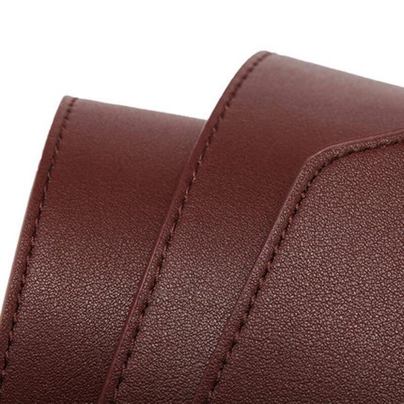 Women Dress Belt, Fashion Coat Leather Belt For Women, Pin Buckle Cowhide Leather Women Belts, Mid-waisted Wide Belt